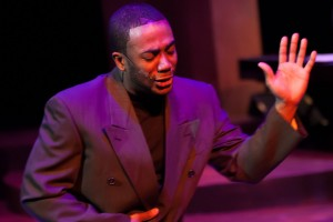 "Lawrence Williams sings ""Summertime"" in CHICAGO'S GOLDEN SOUL (A 60'S REVUE) at Black Ensemble Theater."