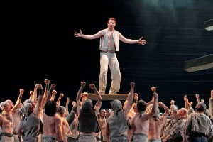 Liam Bonner and Ensemble in LA Opera's BILLY BUDD.