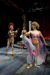 Molly Callinan, Rengin Altay and Barbara E. Robertson in Chicago Shakespeare's production of GYPSY. Photo by Michael Brosilow.