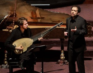Orí Harmelin and Doron Schleifer - Profeti Della Quinta perform IL MANTOVANO HEBREO at the Wilshire Temple in Los Angeles.