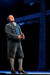 Richard Croft as Captain Vere in LA Opera's BILLY BUDD.