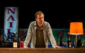 Shane Kenyon (Don) in BUZZER by Tracey Scott Wilson, directed by Jessica Thebus at Goodman Theatre.
