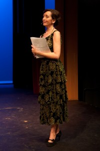 Teri Bibb in Musical Theatre Guild's production of DEATH TAKES A HOLIDAY. (photo by Stan Chandler)