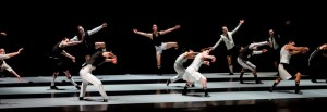 The ensemble of Alexander Ekman's EPISODE 31 with The Joffrey Ballet