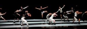 The ensemble of Alexander Ekman's EPISODE 31 with The Joffrey Ballet