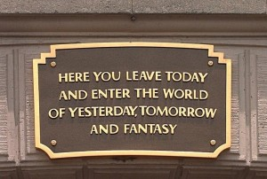 disneyland plaque from Mike Daisey's blogspot