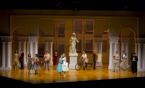 The cast of South Coast Repertory's 2014 production of THE LIGHT IN THE PIAZZA