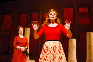 Patti Cohenour and Erin Mackey in South Coast Repertory's 2014 production of The Light in the Piazza, book by Craig Lucas, music and lyrics by Adam Guettel.
