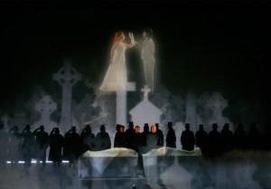 A scene from LA Opera's LUCIA DI LAMMERMOOR.