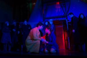 Adam Patrick Cromer and Aubrey Scarr in Pacific Opera Project's CARMEN.