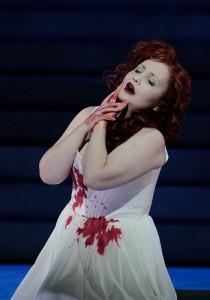 Albina Shagimuratova as Lucia in LA Opera's LUCIA DI LAMMERMOOR.