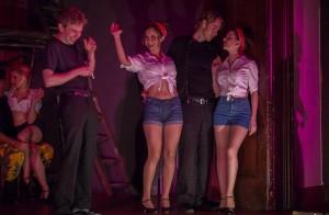 Amy Lawrence, Matthew Ian Welch, Nicole Fernandes, Bryan Dahl and Meagan Martin in Pacific Opera Project's CARMEN.