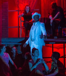 Babatunde Akinboboye and Nora Graham-Smith in Pacific Opera Project's CARMEN.
