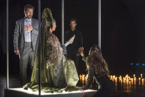 Billy Campbell, Natacha Roi, A.Z. Kelsey and Maya Kazan in Shakespeare's THE WINTER'S TALE at The Old Globe.