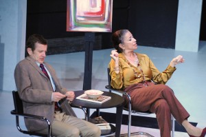 Brian Mulligan, Roma Maffia in Cal Rep's production of Edawrd Albee's THE GOAT.