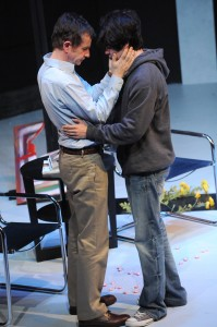 Brian Mulligan and Tyler Bremer in Cal Rep's production of Edawrd Albee's THE GOAT.