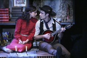 Brittany Uomoleale and Nicholas Cutro star in the West Coast Premiere of THE LAST ACT OF LILKA KADISON, directed by Dan Bonnell at the Falcon Theatre.