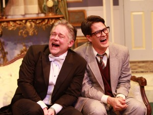Bruce Ladd and Nathan Bell in Actors Co-op's production of LEND ME A TENOR.