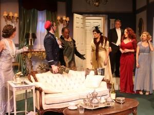 Deborah Marlowe, Stephen Van Dorn, Floyd VanBuskirk, Gina D'Acciaro, Bruce Ladd, Selah Victor, Tannis Hanson in Actors Co-op's production of LEND ME A TENOR.