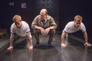 Derek Herman, Karl Potthoff and Will Kiley in GOOD BOYS AND TRUE at Raven Theatre in Chicago.