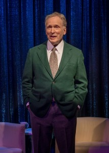 Dick Cavett (as himself) in Brian Richard Mori's HELLMAN v. MCCARTHY Off-Broadway at Abingdon Theatre.