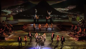 """Scene from """"Heartbeat of Home,"""" a music and dance spectacular from the producers of """"Riverdance."""" Produced by Moya Doherty, directed by John McColgan, choreography by David Bolger and Irish Dance Choreography by John Carey. The world-class cast of thirty-nine includes music by Brian Byrne."""