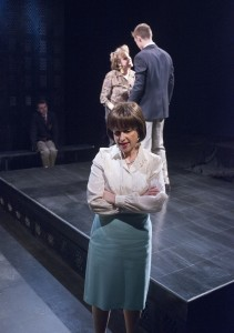 Kelli Strickland, Maggie Cain and Will Kiley in GOOD BOYS AND TRUE at Raven Theatre in Chicago.