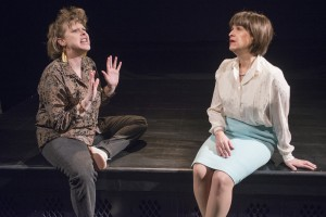 Kelli Strickland and Maggie Cain in GOOD BOYS AND TRUE at Raven Theatre in Chicago.