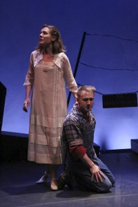 Kim Huber and Mark Whitten star in the LA MIRADA THEATRE FOR THE PERFORMING ARTS production of FLOYD COLLINS, directed by Richard Israel