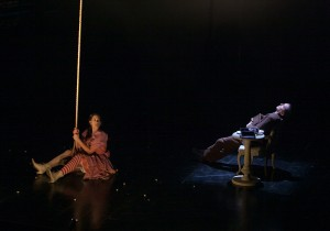 Lauren Demerath (Left) and Layne Manzer (Right) in TUTA Theatre Chicago's THE JEWELS.
