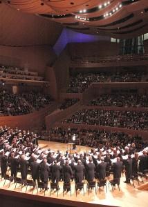 Los Angeles Master Chorale - photo by Lee Salem.