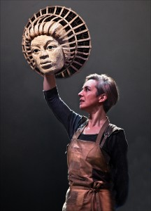 "Saskia Portway in ""A Midsummer Night's Dream"" by Bristol Old Vic & Handspring Puppet Company."