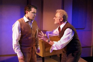 Matt Crabtree and Barry Pearl in DOCTOR ANONYMOUS at the Zephyr Theatre
