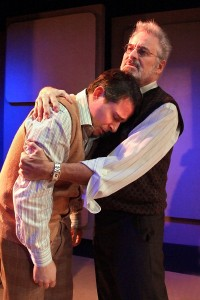 Matt Crabtree and Barry Pearl in DOCTOR ANONYMOUS at the Zephyr Theatre.