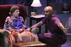 Mindy Sterling and Usman Ally star in the West Coast Premiere of THE LAST ACT OF LILKA KADISON, directed by Dan Bonnell at the Falcon Theatre.