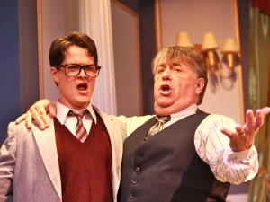 Nathan Bell and Floyd VanBuskirk in Actors Co-op's production of LEND ME A TENOR.