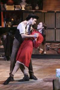 Nicholas Cutro and Brittany Uomoleale star in the West Coast Premiere of THE LAST ACT OF LILKA KADISON, directed by Dan Bonnell at the Falcon Theatre.