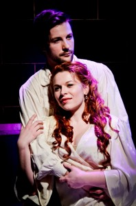 Peter Oyloe and Collette Todd in Theo Ubique's production of PASSION.