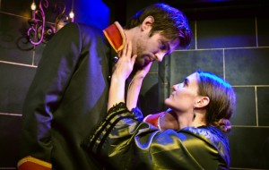 Peter Oyloe and Danni Smith in Theo Ubique's production of PASSION.