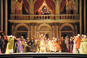 San Diego Opera presents Giuseppe Verdi's A MASKED BALL as part of its 2014 season staring Piotr Beczala, Stephanie Blythe, Krassimira Stoyanova and Aris Argiris. Massimo Zanetti conducts and Lesley Koenig,