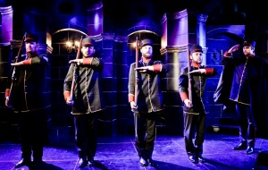 Sean Knight, Anthony Apodaca, Christopher Logan, Ryan Armstrong and Peter Oyloe in Theo Ubique's production of PASSION.