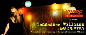 Post image for Regional Theater Review: TENNESSEE WILLIAMS UNSCRIPTED (Impro Theatre at South Coast Rep in Costa Mesa)