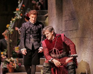 Tenors Joel Sorensen is Rodriguez and Simeon Esper is Juan in San Diego Opera's DON QUIXOTE