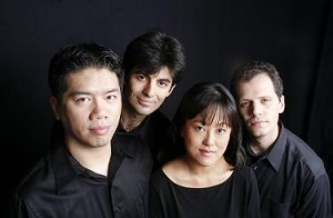 The Avalon String Quartet - Cheng-Hou Lee, cello, Blaise Magniere, violin, Marie Wang, violin, Anthony Devroye, viola.