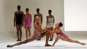 The Company in Alvin Ailey's CHROMA. Photo by Paul Kolnick.