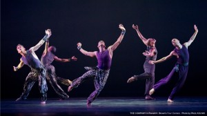 The Company in Alvin Ailey's FOUR CORNERS by Ronald K. Brown. Photo by Paul Kolnick.