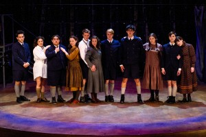 The cast of SPRING AWAKENING at Cygnet Theatre in San Diego.