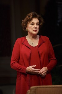 Tyne Daly in a scene from Terrence McNally's MOTHERS AND SONS on Broadway.