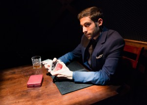 Vinny DePonto in CHARLATAN, now playing at Ars Nova.