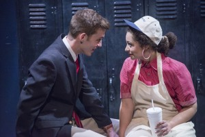 Will Kiley and Sophia Menendian in GOOD BOYS AND TRUE at Raven Theatre in Chicago.